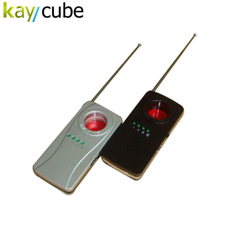 101E Camera lens Bug Detector/Bugging Device Finder/RF GSM Bugging Wireless Signal Detector new rf signal bug detector laser lens gsm device finder home security safety