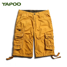 Shorts Men 2017 Summer Fashion Mens Shorts Casual Black Cotton Slim Tapoo Masculina Beach Shorts Joggers Trousers Solid Color