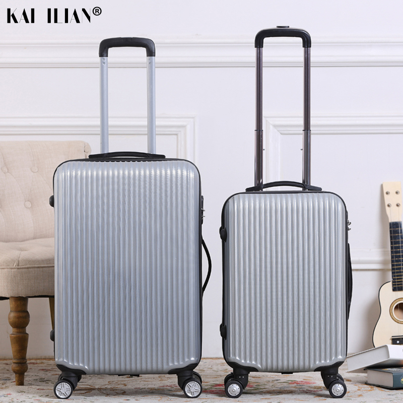 Hot 20/24 Inch Spinner Rolling Luggage Women Suitcase On Wheels Cabin Carry-on Trolley Bag Box Men Luggage Fashion Code Case