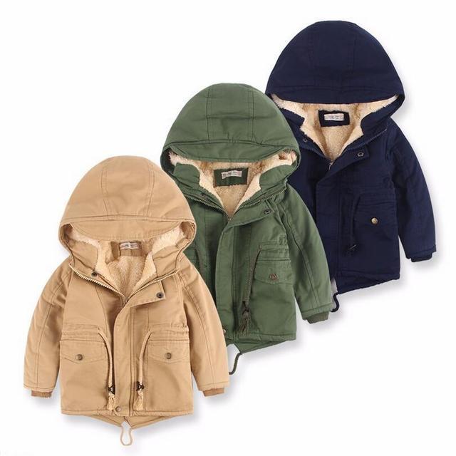 3dc82356f Aliexpress.com   Buy Children Outerwear Warm Coat Sporty Kids ...