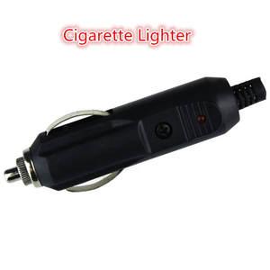 Car-Accessory Converter-Plug Cigarette-Lighter-Socket Enchufe Black Male Kongyide 12V