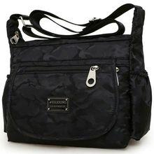 AU Waterproof Women Lady Nylon Shoulder Bag Travel Shopping Messenger Handbag