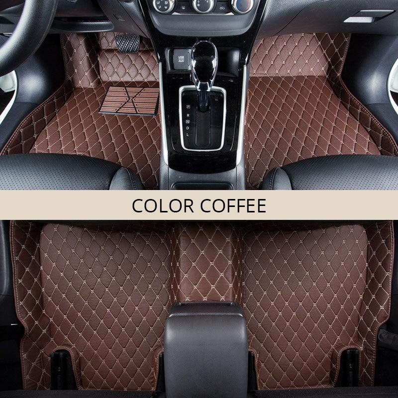 Voiture Tapis De Sol pour Toyota RAV4 RAV 4 2017 2016 2015 2014 2013 IV XA40 Voiture Marchandises Auto Tapis de Plancher pad Tapis Intérieur Accessoires