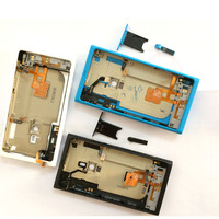 For Nokia Lumia 800   Mobile     Phone     Housing   Cover Case Replacement Battery Back Cover with Buttons NFC
