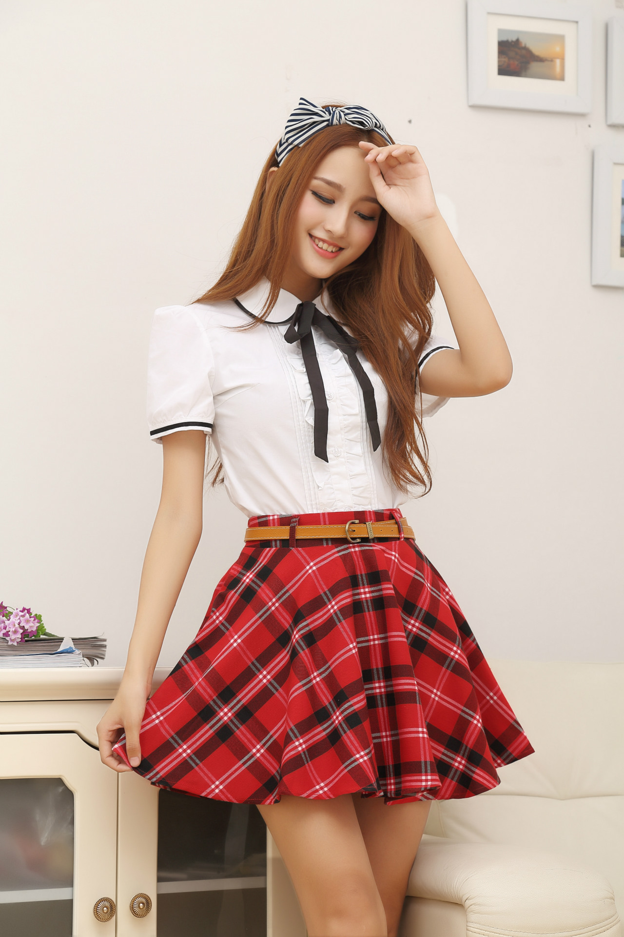 Japanese School Uniform Girls Korean Student College -2985