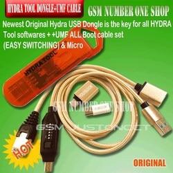 Original nouveau outil hydra dongle pour tous les logiciels de l'outil HYDRA + umf tout en un câble de démarrage (commutation facile) et Micro