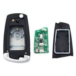 Image 5 - 3 düğme çevirme uzaktan anahtar 315 MHZ/433 MHZ ID44 PCF7935AA çip için BMW EWS 325 330 318 525 530 540 E38 E39 E46 M5 X3 X5 HU92 bıçak