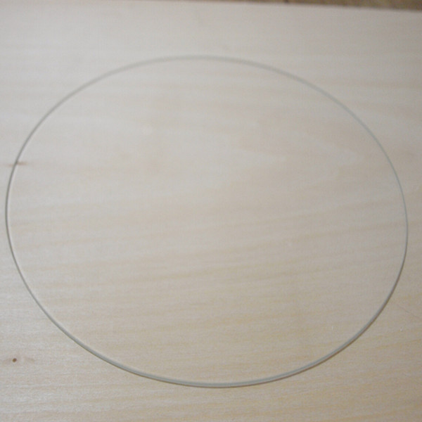 3 D printer accessory Rostock delta KOSSEL ORION Borosilicate Glass plate ROUND 220mm 3mm thick Boro Glass top quality