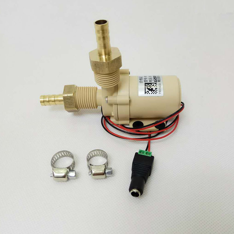 24V DC Pump,Beer Pump, Ceramic  Core ,Food grade Material, Resistant High Temperature For Hot Water Circulation