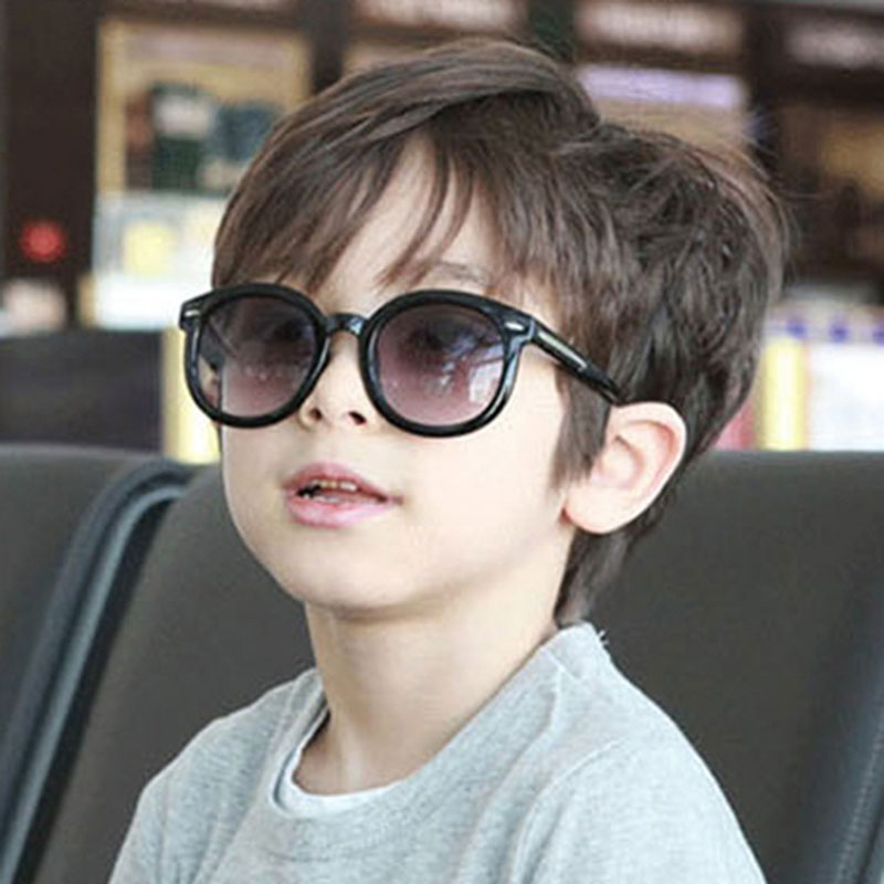 New Boys Sunglasses Classic Brand Design Square Frame Childrene Sun Glasses Anti-UV Goggle Kids Eyeglasses For Girls Gafas