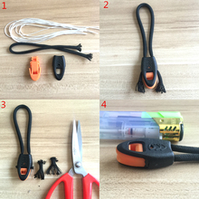 10PCS E0455 Newest Whistles Nylon Outdoor Lifesaving Whistle Camping Suivival Emergency For Hiking hunting