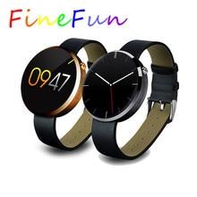 FineFun Smart Uhr DM360 Bluetooth Smartwatch Mode Herzfrequenzmessung Armbanduhr Für IOS Android Phone pedometer