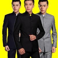Вечернее платье Slim Fit пиджак мужчины китайский туника пиджак мужской  новый дизайн жениха замуж костюмы мужчина 3e3be45c93d