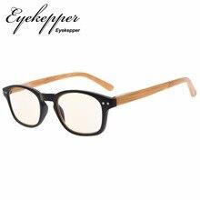 CG034 окуляр бамбуковый вид дужки УФ-защита очки, антибликовые считыватели