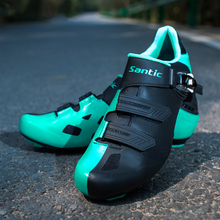 Santic Men Road Cycling Shoes Men Women 2017 Pro Racing Team Road Bike Shoes Buckle Athletic TPU Wearable Bicycle Shoe Ciclismo