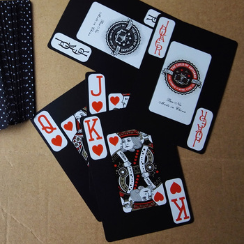 Whosales 10pcs/lot Texas Hold'em Plastic Playing Cards PVC Waterproof Poker