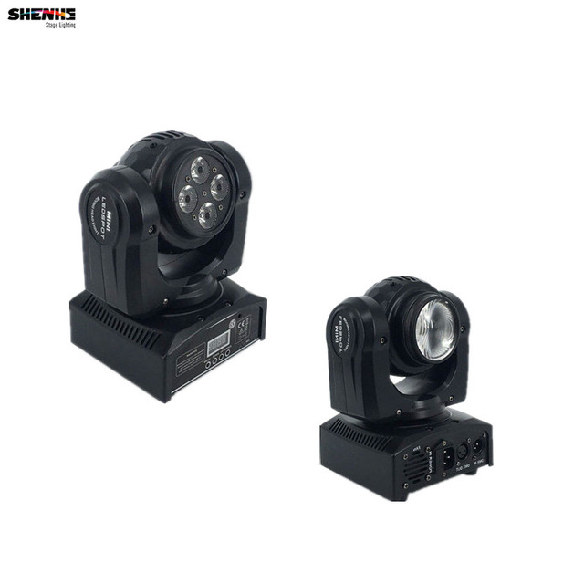 Led Beam Wash Double Sides Professional Stage Effect Light RGBW 15/21  Channels Rotating Moving