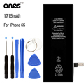 ONES brand Real Capacity 1715 mAh new 0 cycle mobile phone battery for For Apple iPhone 6S Batteries Replacement with kit tools
