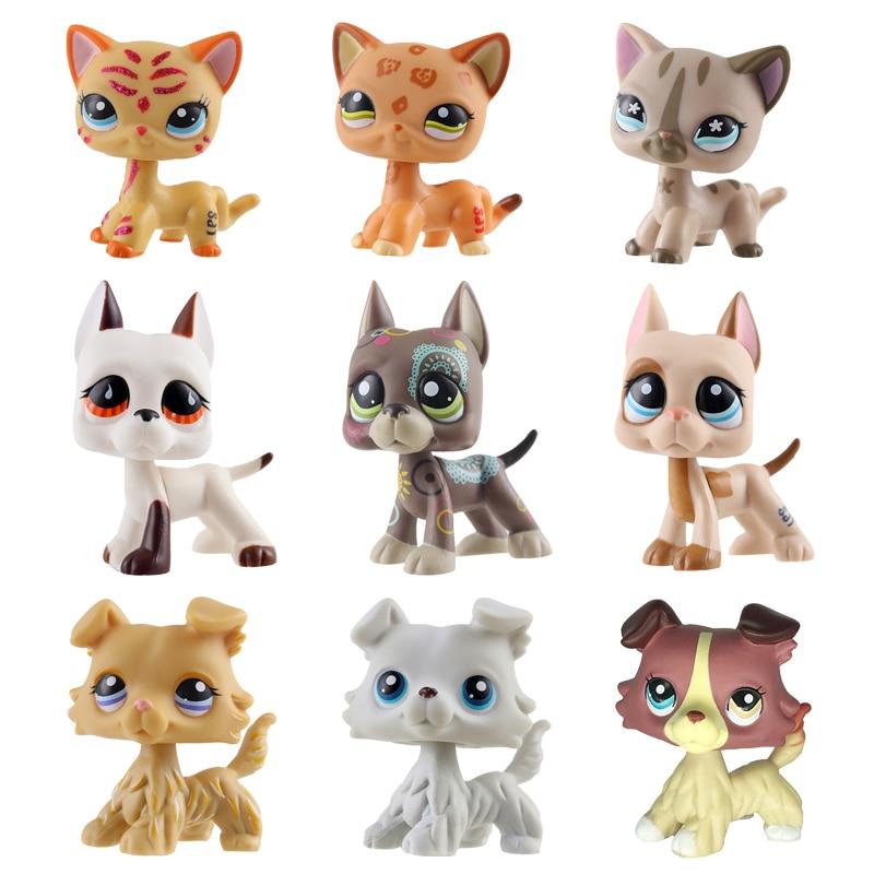 1pcs random great dane dog Littlest Pet Shop toy cute Christmas gift