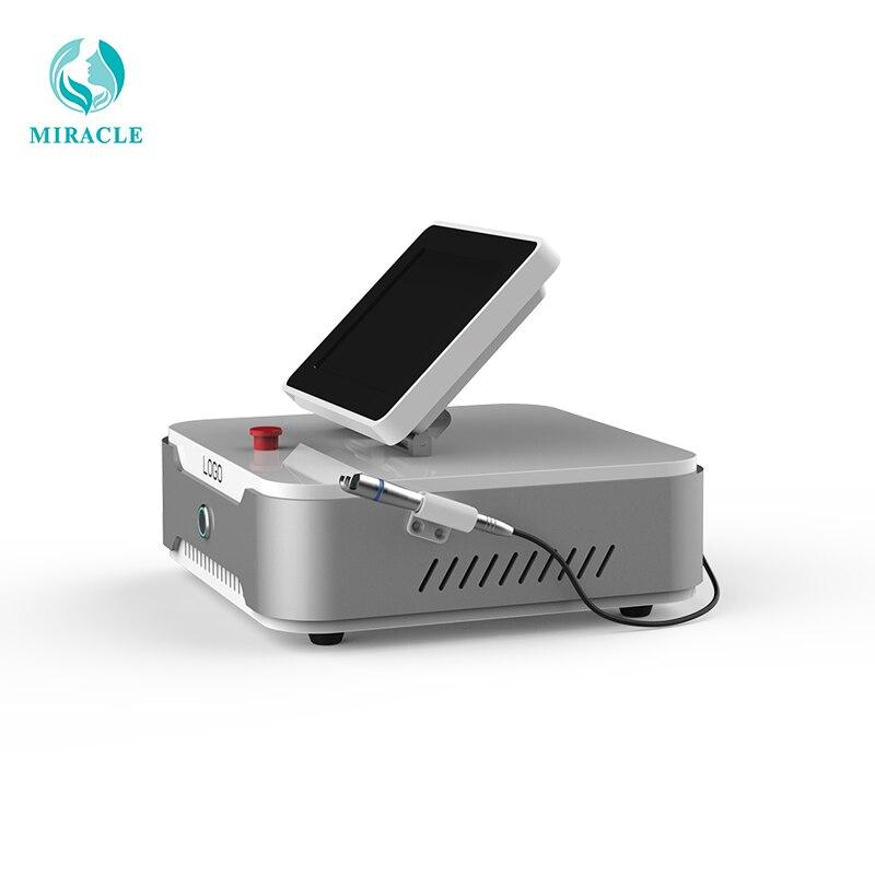 5 taille de tache 0.2mm 0.5mm 1mm 2mm 3mm Pro 980nm Diode Laser araignée veine système d'enlèvement vasculaire Machine de beauté