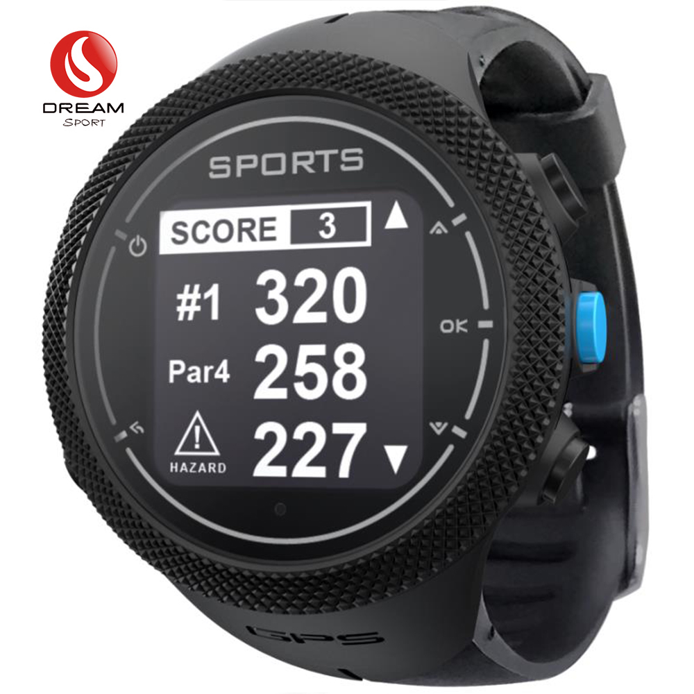 Dream Sport Golf Watches For Men,40000+Worldwide Golf Courses, Golf Buddy ,Free Worldwide Courses Update In Real Time