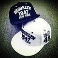 2016 Новый Черный Белый Случайный Gorras Snapbacks Скейтборд Шляпы 1947 нью-Йорк Письма Хип-Хоп Кепка Бейсболки Для Мужчин женщины