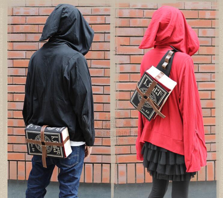 Book Back-Bag Laptop Notebook-Shape Schoolbag Women Student Teenager Casual Travel