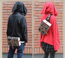 Kobiety notebook kształt dorywczo torba podróżna nastolatek Student powrót do zeszyt szkolny Laptop book tornister