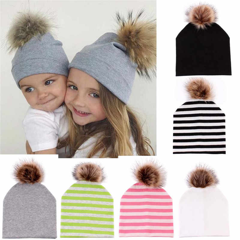 children's winter autumn hat Fashion And Winter Girl Hats Hip-Hop Hat newborn photography props warm baby sombreros fotografia