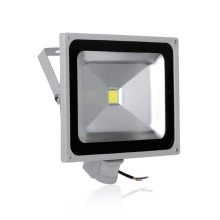 1pcs LED Sensor Flood Light 50W 4500LM IP65 AC85-265V Projector Refletor Led Floodlight Projecteur Led Spotlight Outdoor Light