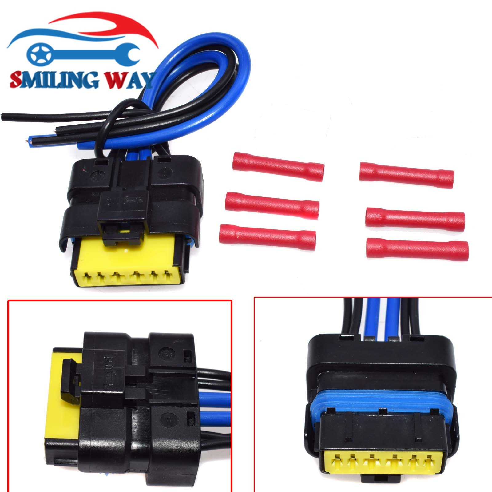 Smiling Way Window Module Motor Regulator Harness Plug Pigtail Jeep Rear Door Wiring Pigtails Connector For Renault Clio Espace Laguna Megane Scenic In Car Switches Relays From