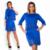 Elegante Sexy 2 unidades set verano de las mujeres vestidos de tamaño grande NUEVA 2017 mujeres de talla grande ropa l-6xl dress casual o-cuello de bodycon dress