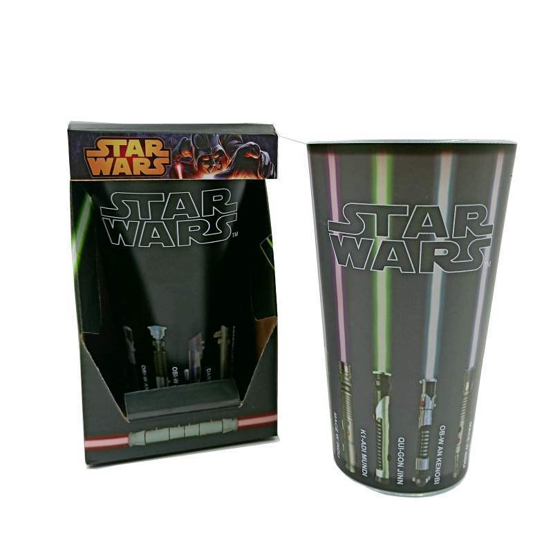 Hot Star Wars plus chaud changement de couleur Tasses grande lumière épée Tasse Bande Dessinée Créative Chaleur Changement Céramique Tasse verre de vin