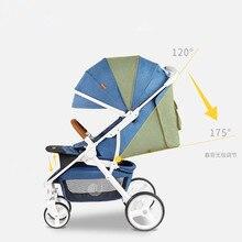 Baby Carrier Cart Umbrella Stroller Lightweight Baby Strollers Folding Portable Four-wheeled Trolley carrinho de bebe Pushchair