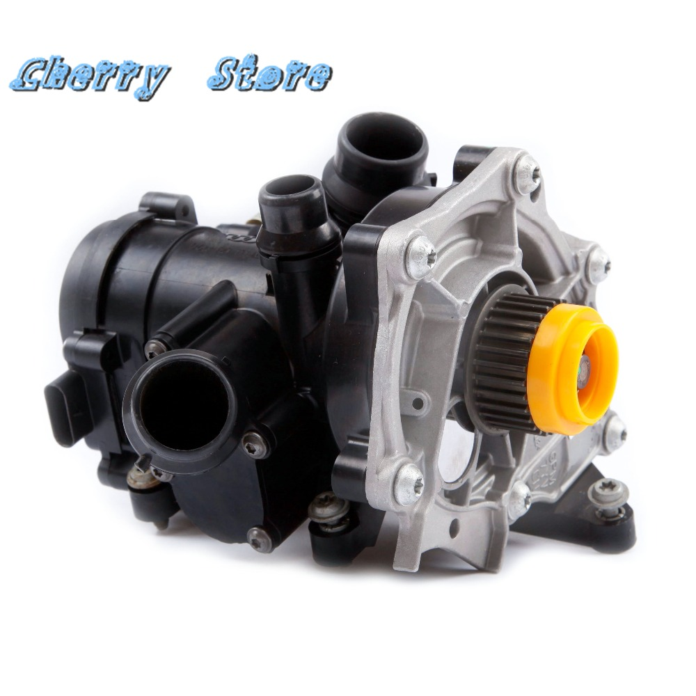 hight resolution of new 06k 121 011 b electronic water pump thermostat housing assembly for audi a4 a6 q5 q7 tt vw golf mk7 1 8 2 0tfsi 3rd ea888 in water pumps from
