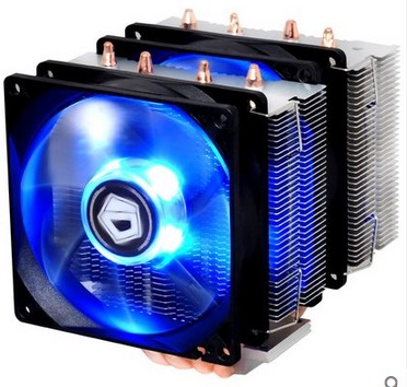 ID-COOLING SE-904Twin, TDP 150W, Twin tower heatsink,PWM Fan with Blue LED, 4 Direct Touch Heatpipe free shipping холодильник samsung rs4000 с двухконтурной системой twin cooling 569 л
