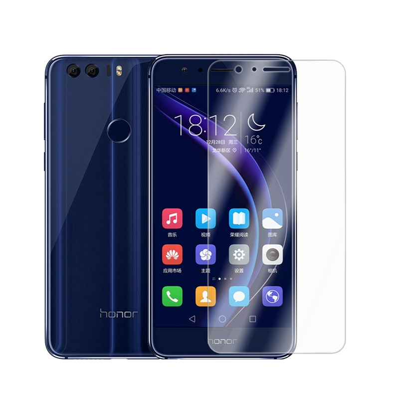 2.5D 0.26mm 9H Premium Tempered Glass For Huawei Honor 8 Screen Protector Protective Film For Huawei Honor 8A 8 Lite Glass