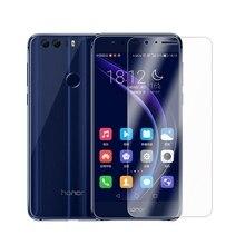 2.5D 0.26mm 9H Premium Temperli Cam Huawei Onur 8 Için Ekran Koruyucu koruyucu film Için Huawei Onur 8A 8 lite Cam