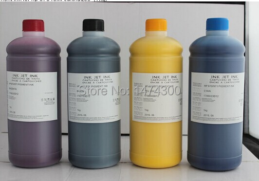 XIMO 1L bottle pigment ink Special for HP970 971 use for HP Officejet Officejet Pro X451dn X451dw X476dn X476dw X551dw
