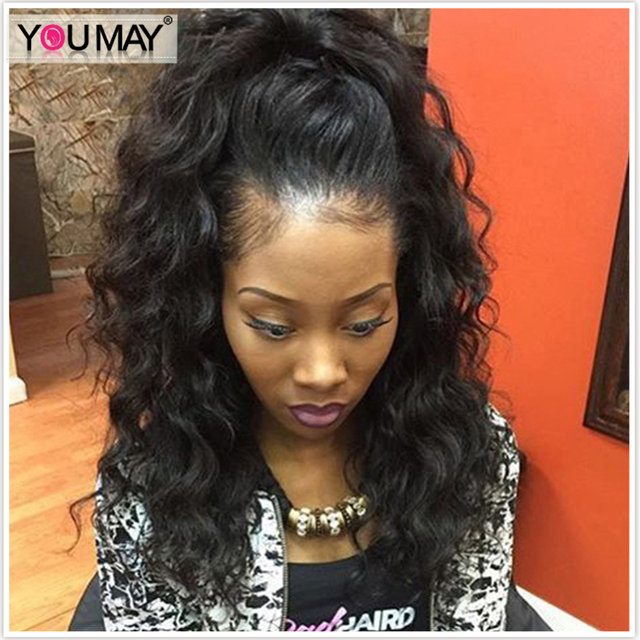 US $185.0 |Pre Plucked 360 Lace Wig With