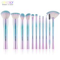 Docolor 11PCS Makeup Brushes Set Professional Best Gift Foundation Powder Eyeshadow Brushes For Make Up Top