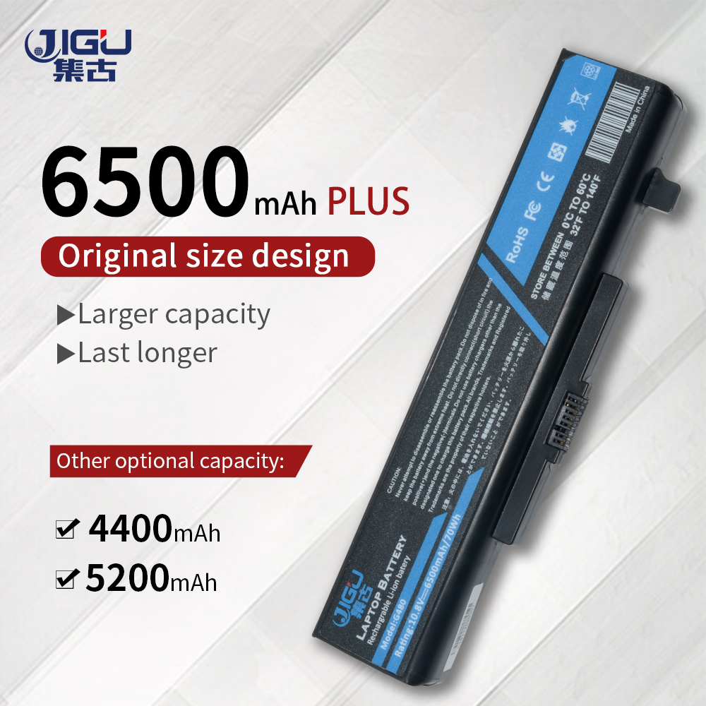 JIGU Laptop Battery For Lenovo G480 G485 G585 G580 Y480 Y580 Z380 Z480 Z580 Z585 Z485 6 Cells
