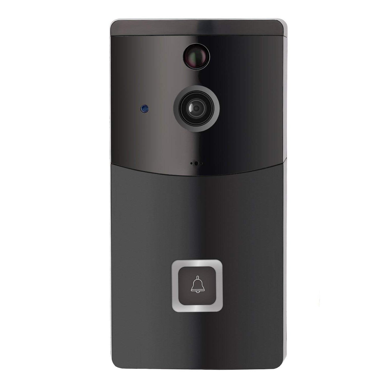 WiFi Video Doorbell, Wireless Smart Doorbell Camera, 720P HD Wifi Security CamerReal Time Video Two-Way Audio IntercomWiFi Video Doorbell, Wireless Smart Doorbell Camera, 720P HD Wifi Security CamerReal Time Video Two-Way Audio Intercom