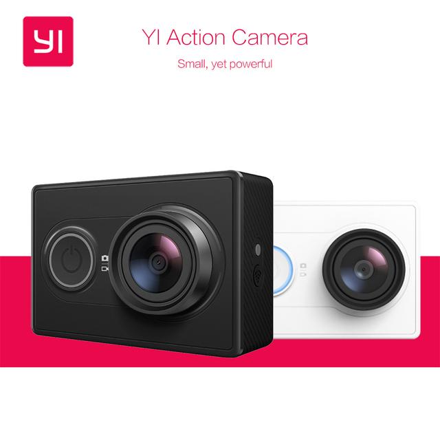 Versão internacional! original xiaomi yi action camera xiaoyi 16mp à prova d' água câmera 1080 p 60fps wi-fi bluetooth 4.0 sports cam