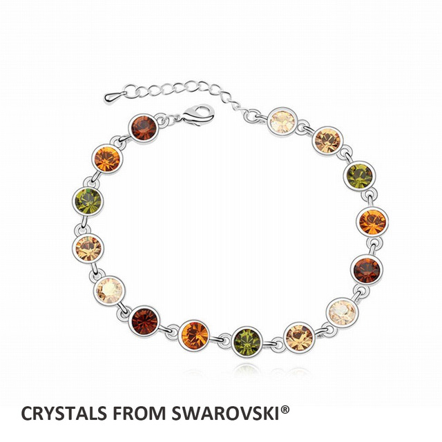 2019 hot sale 3 colors multi color bracelet with crystal from SWAROVSKI for  Christmas gift 317f433ad8