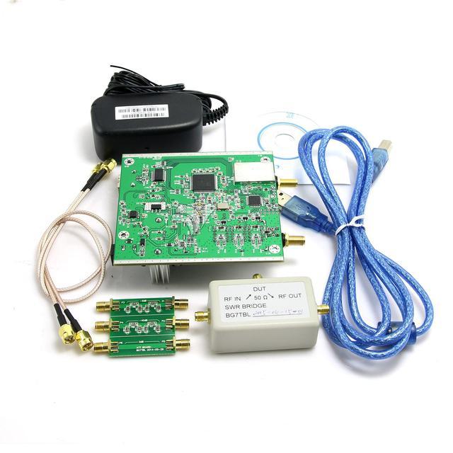 NWT500 0.1MHz-550MHz USB Sweep Analyzer+ Attenuator+ SWR Bridge+ SMA Cable