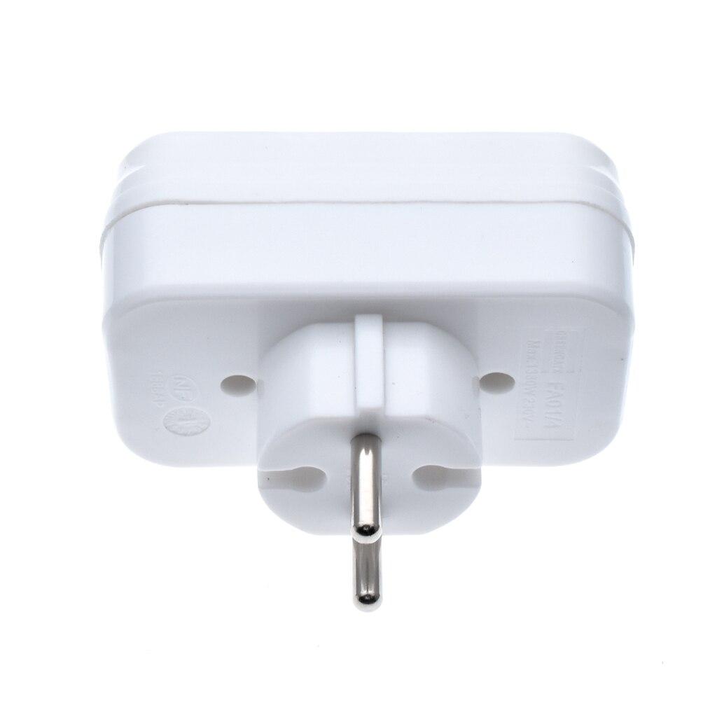 HTB1PgU6bozrK1RjSspmq6AOdFXae - European Type Conversion Plug 1 TO 4 Way EU Standard Power Adapter Socket 16A Travel Plugs