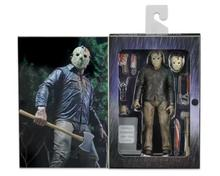 NECA 3D Friday The 13th Part 3 The Final Chapter Jason Voorhees PVC Action Figure Model Doll 18cm