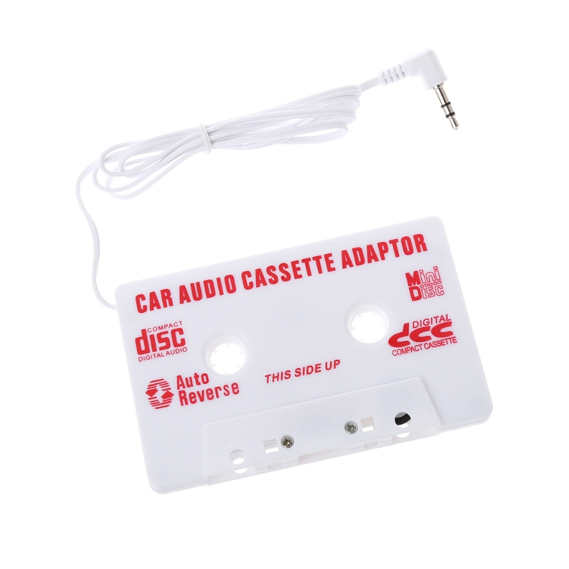 AUTO Universal Car Cassette Tape Audio Adapter Stereo Converter For Iphone Ipod MP3 AUX CD 3.5 MM Car-styling
