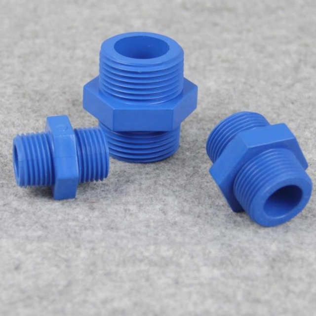 10pcs UPVC 20mm 25mm 32mm Both External Thread Connector Plastic Irrigation Water Pipe Fittings Bilateral Male & 10pcs UPVC 20mm 25mm 32mm Both External Thread Connector Plastic ...